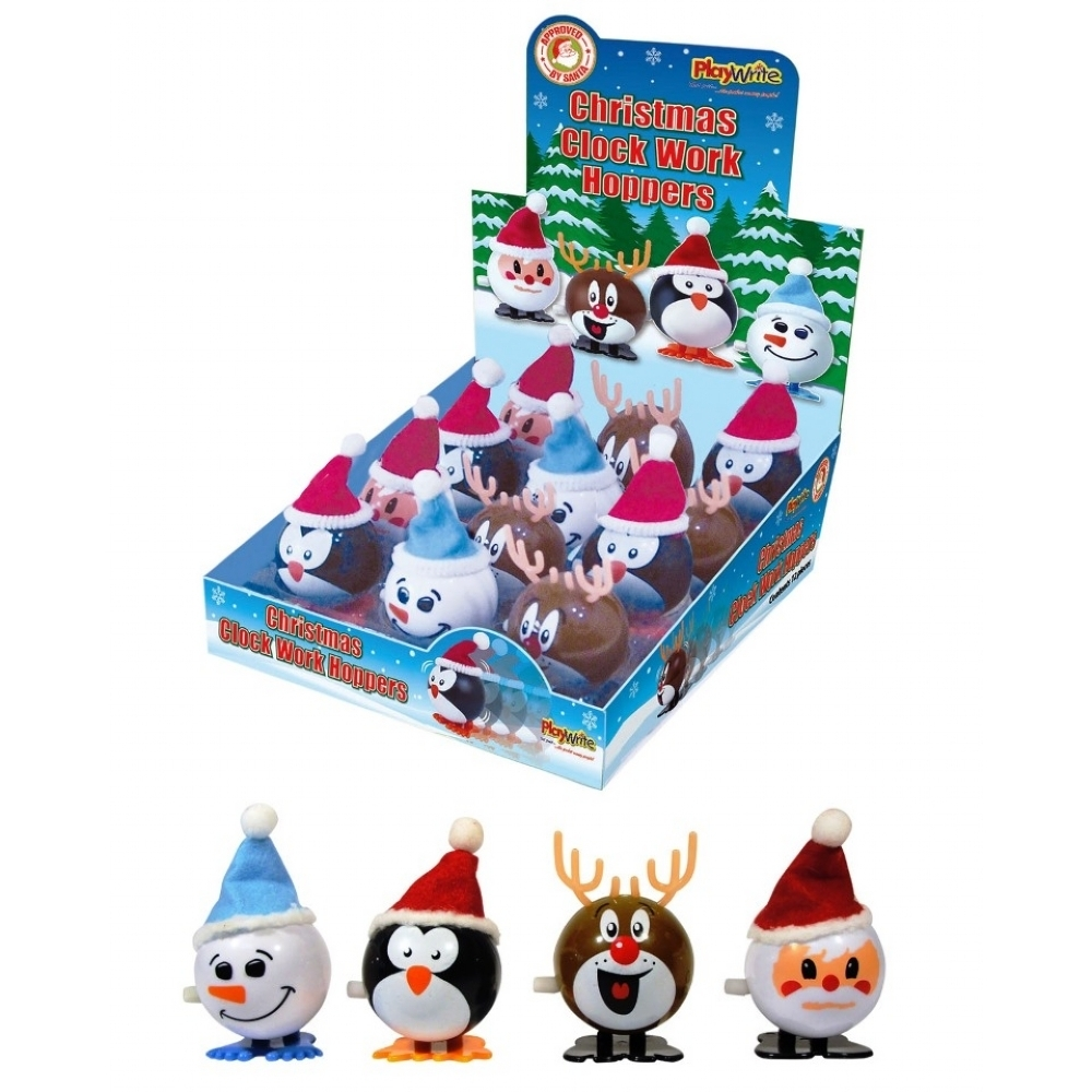 Christmas Toys Product : Christmas hoppers wind up toys stocking