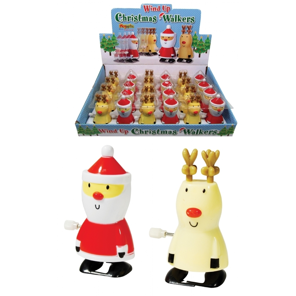 Christmas Toys Product : Christmas walkers wind up toys stocking